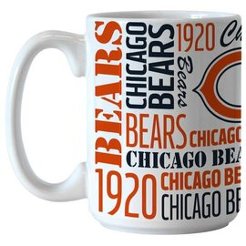 Chicago Bears 15 Oz Spirit Coffee Cup