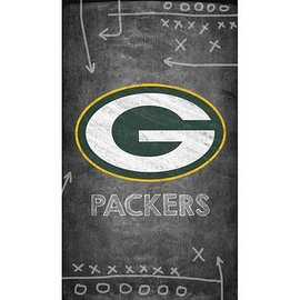 Green Bay Packers Canvas Chalkboard Wall Hanging