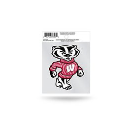 Wisconsin Badgers Small Static Cling - Bucky