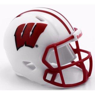 Riddell, Inc Wisconsin Badgers Pocket Pro Helmet