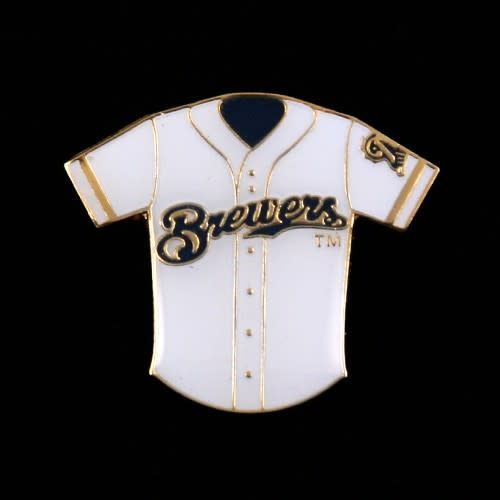 cheap for discount 8fa99 83b6b Milwaukee Brewers Jersey pin