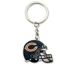 Chicago Bears Helmet Keychain