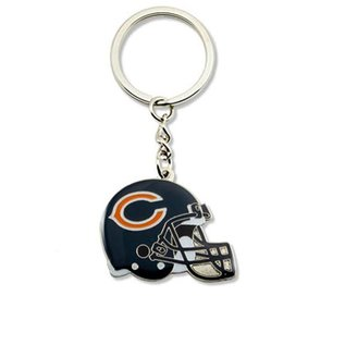 Chicago Bears Helmet Keychain