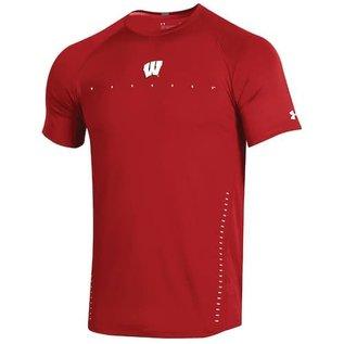 Wisconsin Badgers Men's Raid Sideline Short Sleeve Tee