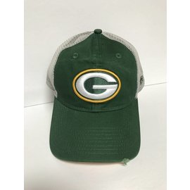 Green Bay Packers 9-20 Trucker Stated Back Adjustable Hat