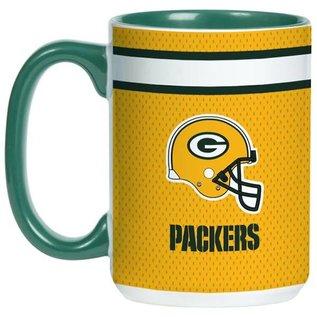 Boelter Brands LLC Green Bay Packers 15 Oz Color Blast Coffee Mug