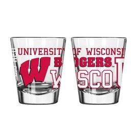 Boelter Brands LLC Wisconsin Badgers 2 oz Spirit Shot Glass