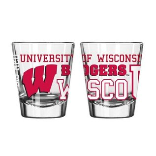 Boelter Brands LLC Wisconsin Badgers 2 oz Spirit Shot Glass