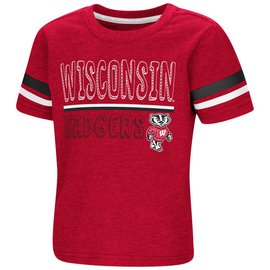 Wisconsin Badgers Toddler Boys You Raaaang? Short Sleeve Tee