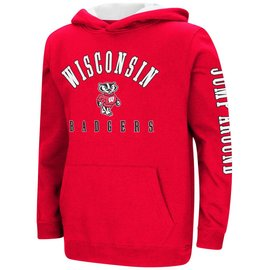 Wisconsin Badgers Youth Berminator Zone II Pullover Hoodie