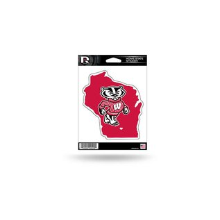Rico Industries, Inc. Wisconsin Badgers Home State Decal
