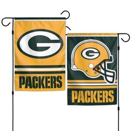 Green Bay Packers 2 Sided Garden Flag