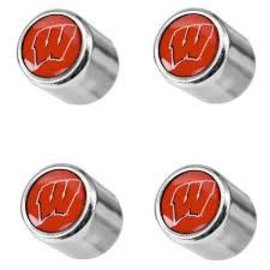 Wisconsin Badger Valve Stem Caps