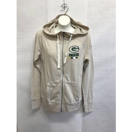 Nike Green Bay Packers Women's Gym Vintage Hoodie