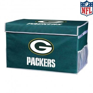 Franklin Sports Green Bay Packers Collapsible Foot Locker