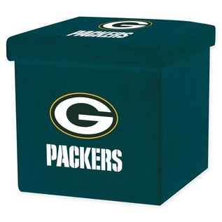 Franklin Sports Green Bay Packers 14x14x14 Collapsible Storage Unit