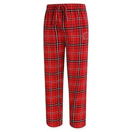 College Concepts LLC Wisconsin Badgers Men's Homestretch Flannel Pant