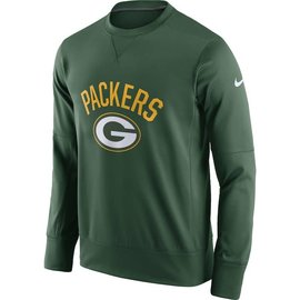Nike Green Bay Packers Men's Sideline Crewneck Sweatshirt