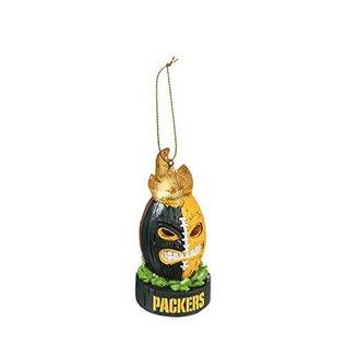 Evergreen Enterprises Green Bay Packers Lit Tiki Ball Ornament