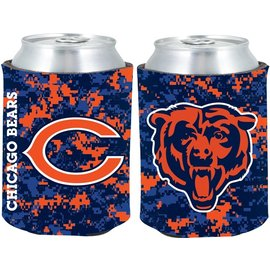 Chicago Bears Digi Camo Can Cooler