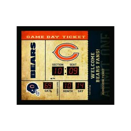 Chicago Bears Bluetooth Scoreboard Clock