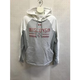 Wisconsin Badgers Women's Threadborne Ridge Fleece Hoodie
