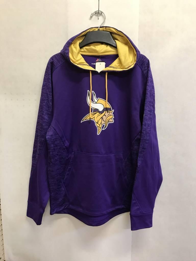 new style e7208 40438 Minnesota Vikings Men's Armor Pullover Hoodie
