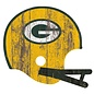 Fan Creations Green Bay Packers Distressed Helmet Cutout