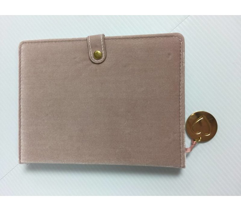 Journal - Snap - Pink Velvet