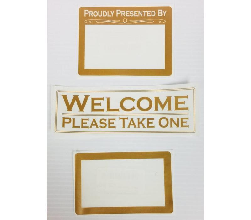 Label - Flyer Holder -