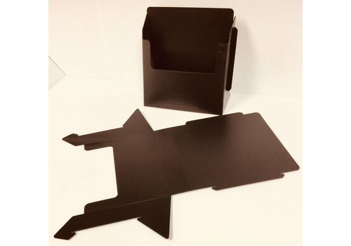 Flyer Holder - Folding - Black