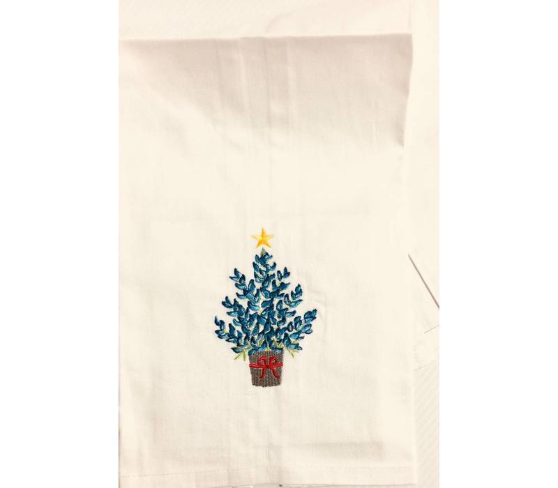Kitchen Towel - Bluebonnet Xmas Tree