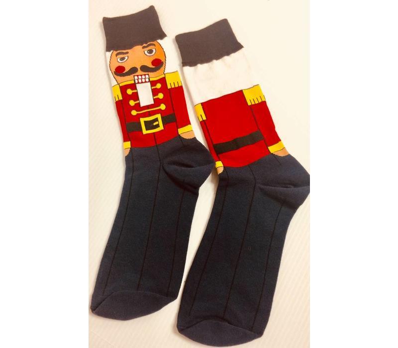Socks - Men's Crew - Nutcracker