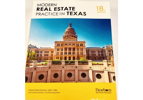 Modern Real Estate Practice In Texas - 16th edition