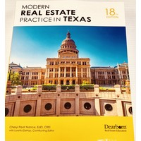 Modern R E Practice in Texas - 18th edition