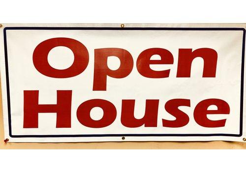 """Banner - 30"""" X 60"""" - Open House"""