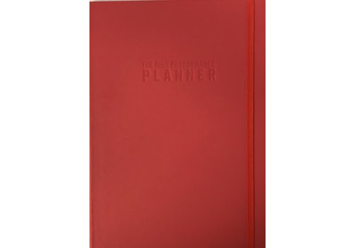 Planner - High Performance - Red