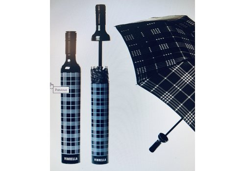 Vinrella - Black Plaid