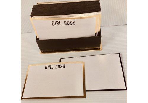 Flat Notes - Girl Boss