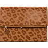 Journal - Clutch - Leopard - Brown