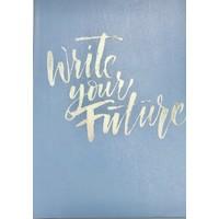 Journal - Write Future - Lg - Lt Blue