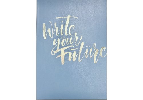 Journal - Write Future - Lg - Lt Blue