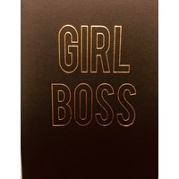 Journal - Girl Boss - Large - Black