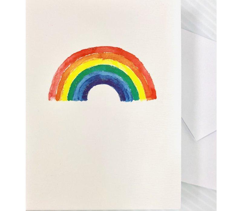Cards - Le petite - Watercolor Rainbow