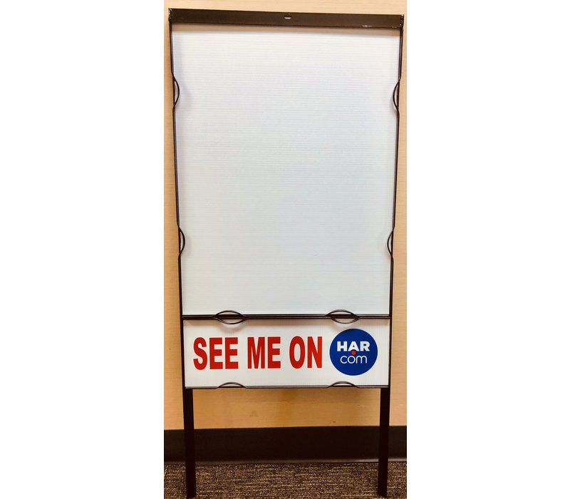 "Sign Frame - 24'' X 18"""