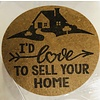 "Stickers - Round 1.5"" - Love to Sell"
