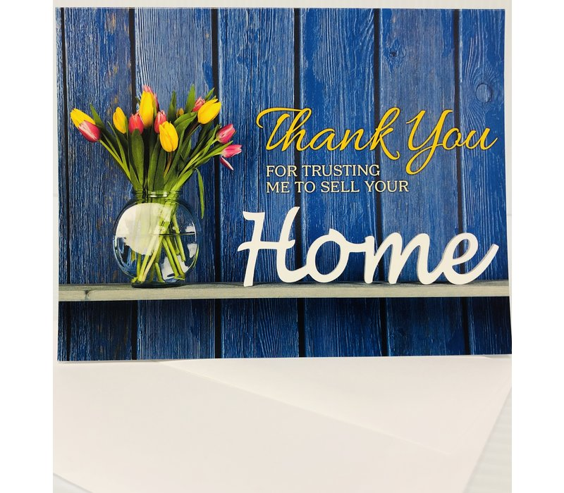 Note Cards - Thank You Trust - 25pk