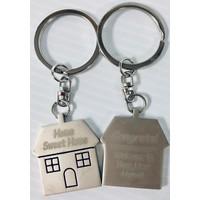 Key Chain - House - Home Sweet