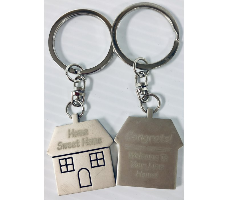 Key Chain - House - Home Sweet