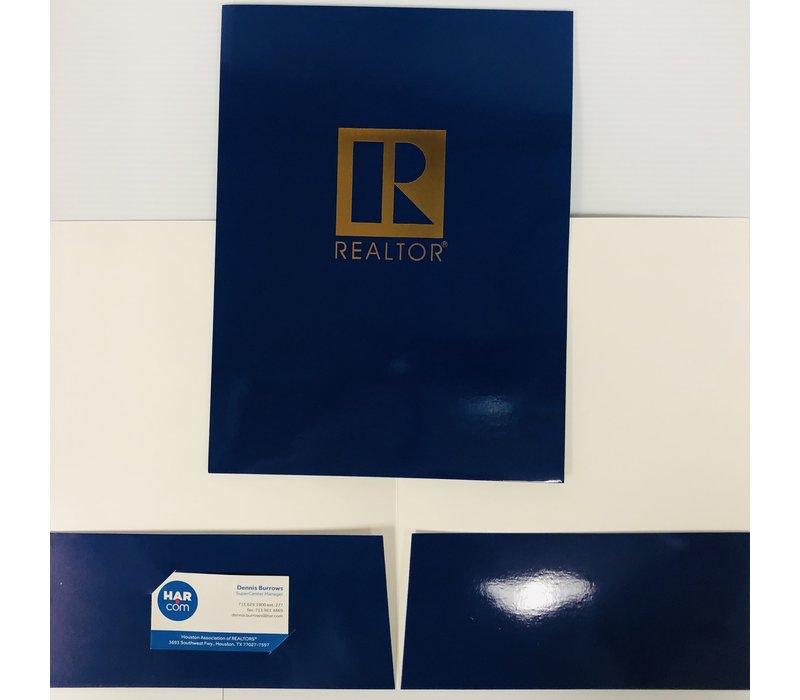 Document Folders - Navy - R - 5pk